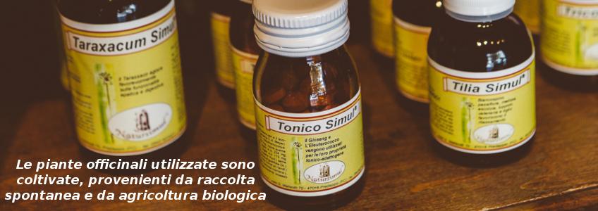Prodotti e testo piante officinali